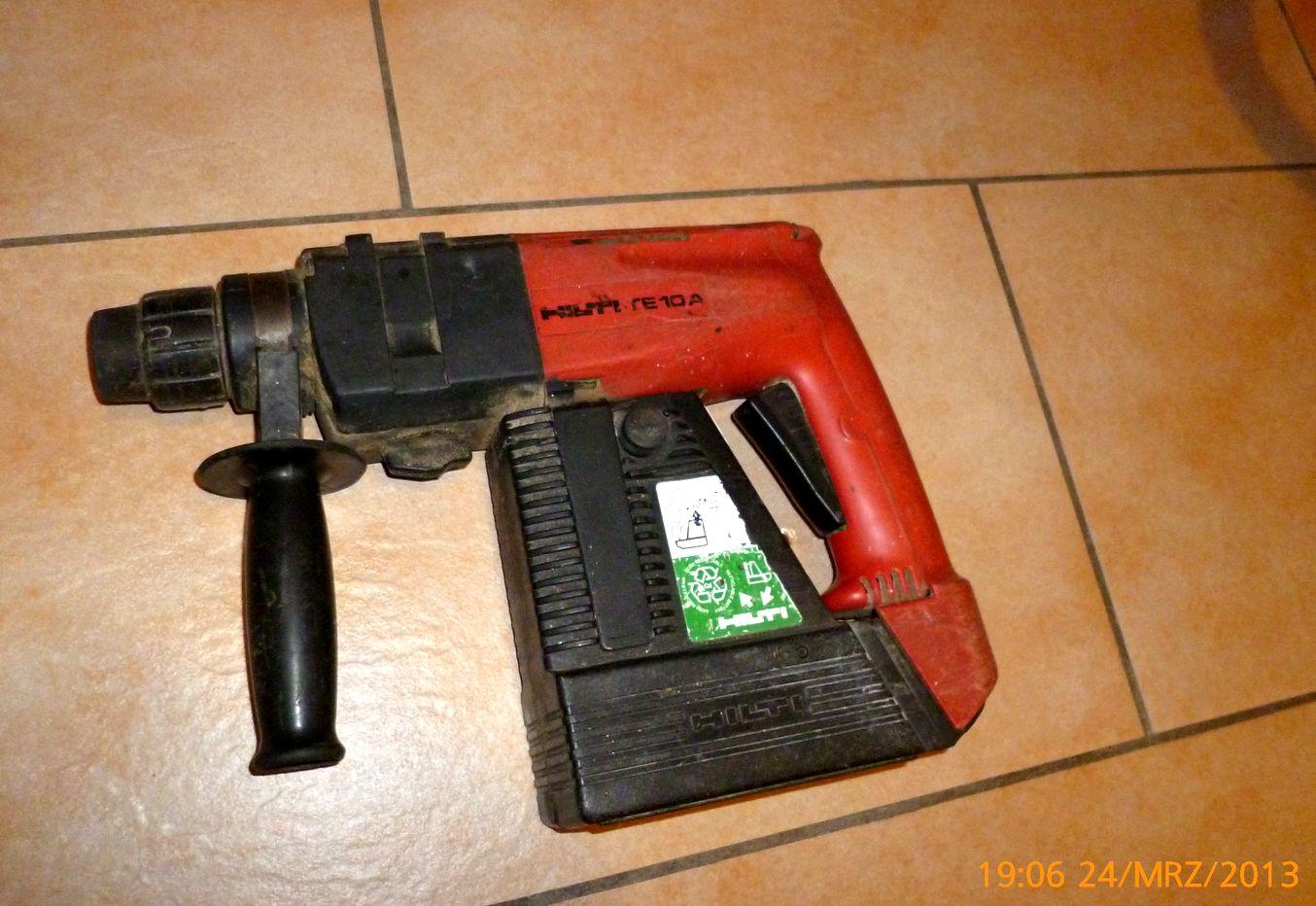 Hilti TE 10A Akku Bohrhammer ohne Koffer und ohne